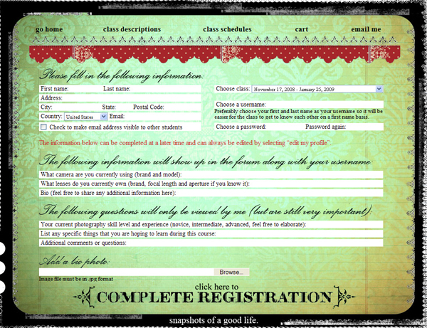 Dana Registration_Page