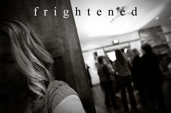 Karen frightened