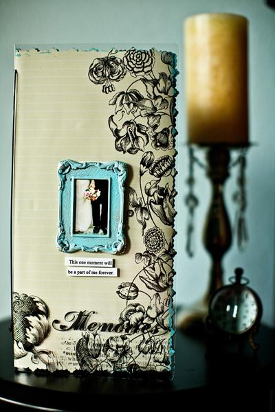 6x12 Transparent Standing Album